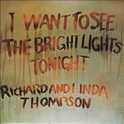 Click here for more info about 'Richard & Linda Thompson - I Want To See - Blue label'