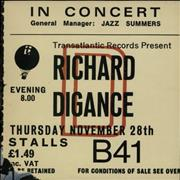 Click here for more info about 'Richard Digance - In Concert'