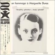 Click here for more info about 'Richard Jobson - Un Hommage A Marguerite Duras'