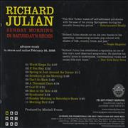 Click here for more info about 'Richard Julian - Sunday Morning In Saturdays Shoes'