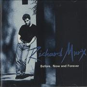 Richard Marx Before, Now And Forever Japan 2-CD album set Promo