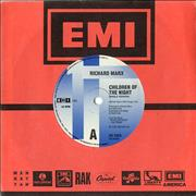 "Richard Marx Children Of The Night Australia 7"" vinyl"