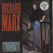 "Richard Marx Should've Known Better - Engraved UK 12"" vinyl"