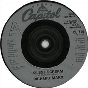 "Richard Marx Silent Scream UK 7"" vinyl"