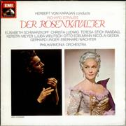 Richard Strauss Der Rosenkavalier UK 4-LP vinyl set
