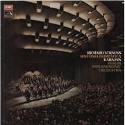 Richard Strauss Sinfonia Domestica UK vinyl LP