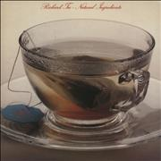 Richard Tee Natural Ingredients - White Label + Gold Promo Stamped USA vinyl LP