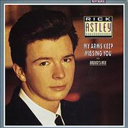 Click here for more info about 'Rick Astley - My Arms Keep Missing You'