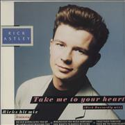 Click here for more info about 'Rick Astley - Take Me To Your Heart'