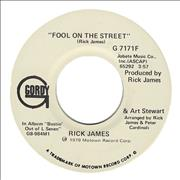Click here for more info about 'Rick James - Fool On The Street'