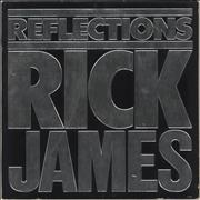 Rick James Reflections + Poster USA vinyl LP