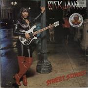 Rick James Street Songs Germany vinyl LP
