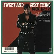 Click here for more info about 'Rick James - Sweet And Sexy Thing - White label + Insert'