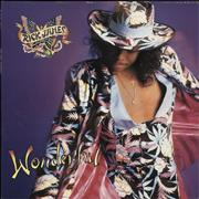Rick James Wonderful UK vinyl LP