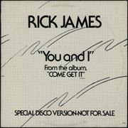 Click here for more info about 'Rick James - You And I'