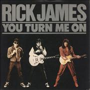 "Rick James You Turn Me On UK 7"" vinyl"