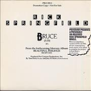 Click here for more info about 'Rick Springfield - Bruce'