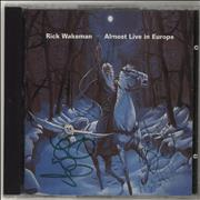 Click here for more info about 'Rick Wakeman - Almost Live In Europe - Autographed'
