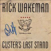 Click here for more info about 'Rick Wakeman - Custer's Last Stand - Autographed'