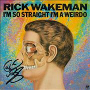 Click here for more info about 'Rick Wakeman - I'm So Straight I'm A Weirdo - Autographed'