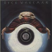 Click here for more info about 'Rick Wakeman - No Earthly Connection + Foil Mirror Insert - EX'