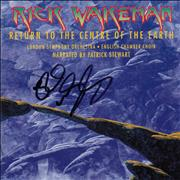 Click here for more info about 'Return To the Centre Of The Earth - Autographed'