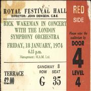 Click here for more info about 'Rick Wakeman - Royal Festival Hall 1974'