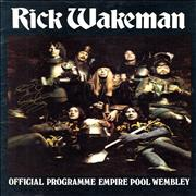 Click here for more info about 'Rick Wakeman - The Myths And Legends Of King Arthur - Autographed Twice'