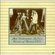 Click here for more info about 'Rick Wakeman - The Six Wives Of Henry VIII - Tan Label'