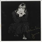 Click here for more info about 'Rickie Lee Jones - Autographed Publicity Photograph'