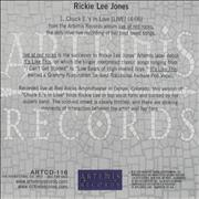 Click here for more info about 'Rickie Lee Jones - Chuck E.'s In Love'