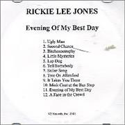Click here for more info about 'Rickie Lee Jones - Evening Of My Best Day'