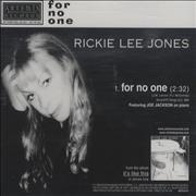 Click here for more info about 'Rickie Lee Jones - For No One'