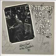 Click here for more info about 'Ricky Cool - Saturday Night Is A Party Night EP - Autographed'