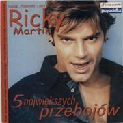 Ricky Martin 5 Najwiekszych Przebojow Poland CD single Promo