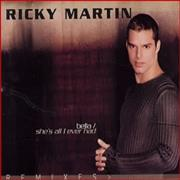 Click here for more info about 'Ricky Martin - Bella/she's All I Ever Had'