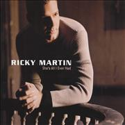 Click here for more info about 'Ricky Martin - She's All I Ever Had'
