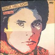 Click here for more info about 'Ricky Nelson - Four You - Gold Promo Stamped'