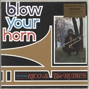 Click here for more info about 'Rico - Blow Your Horn -180gm Orange Vinyl'