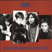 Click here for more info about 'Ride - I Don't Know Where It Comes From'