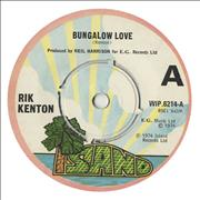 Click here for more info about 'Rik Kenton - Bungalow Love'