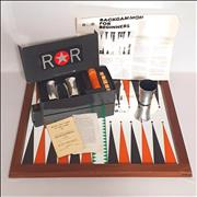 Ringo Or Robin Backgammon Set - Wooden Frame UK memorabilia Promo