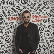 Click here for more info about 'Ringo Starr - Give More Love - Sealed'