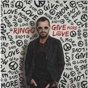 Ringo Starr Give More Love - Sealed UK vinyl LP