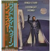 Ringo Starr Goodnight Vienna Japan vinyl LP