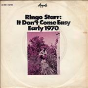 Click here for more info about 'Ringo Starr - It Don't Come Easy - Non mint'