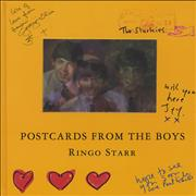 Click here for more info about 'Ringo Starr - Postcards From The Boys - Hardback'