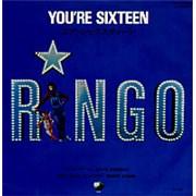 "Ringo Starr You're Sixteen Japan 7"" vinyl"