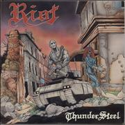Click here for more info about 'Riot - Thunder Steel'