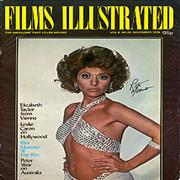 Click here for more info about 'Rita Moreno - Films Illustrated - Autographed'